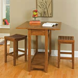 Expandable Bar Table Home Styles Expandable Console Dining Table With 2 Stools At Hayneedle