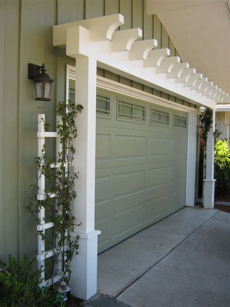 arbor over garage ikea decora