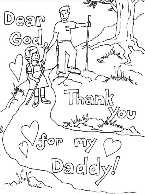 Fathers Day Coloring Pages For free coloring pages printable s day coloring pages