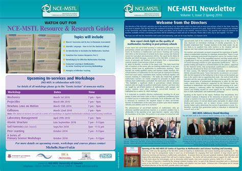 newsletters limerick printing