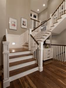 Traditional Staircase Ideas Houndstooth Residence 183 More Info