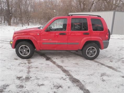 2004 Jeep Liberty Parts Used 2004 Jeep Liberty Front Part 254333