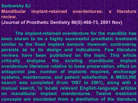 Cd E Book The Journal Of Prosthetic Dentistry selection of dental implant patients surgery courses