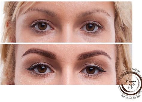 henna eyebrow tattoo eye enhancements