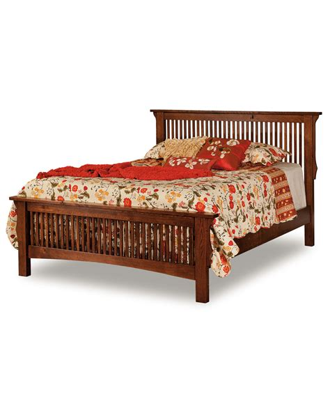 mission bed stick mission bed amish direct furniture