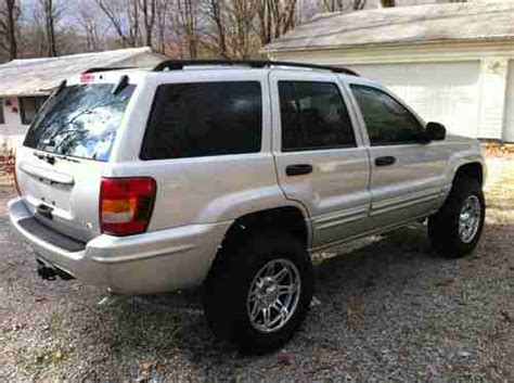 buy car manuals 2004 jeep grand cherokee electronic throttle control buy used 2004 jeep grand cherokee lifted lift nitto tires flowmaster exhaust clean 4 7l in