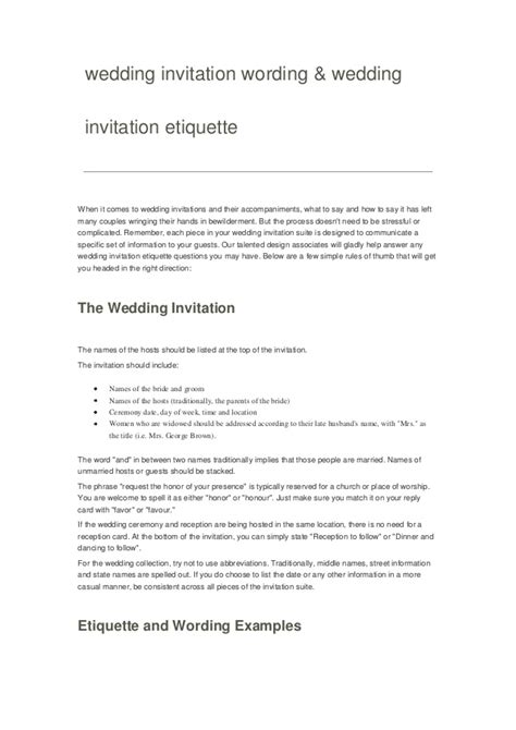 Upcoming Wedding Announcement Wording by Wedding Invitation Wording