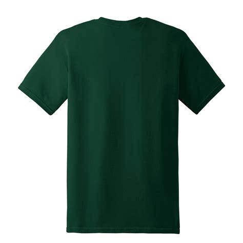 Tshirt Kaos Green gildan 5000 heavy cotton t shirt forest green