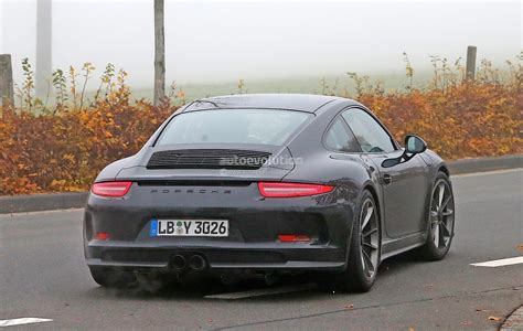 porsche 911 r 2017 porsche 911 r spied for the first time gt3 engine