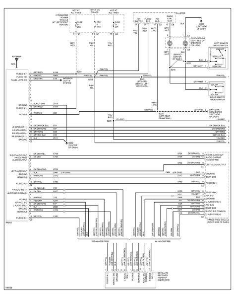 2005 dodge ram 1500 radio wiring diagram wiring diagram