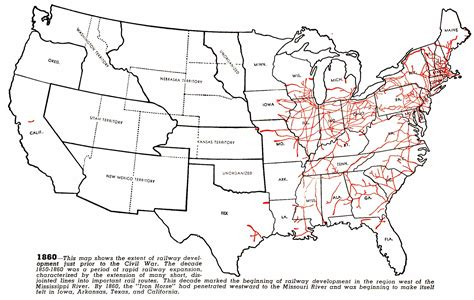 map of railroad tracks in usa 1000 images about america 1860 1900 on cars