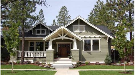 Mission Style House Plans by One Story Craftsman Style Homes One Story Craftsman Style