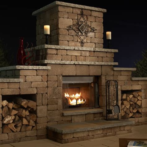 easy outdoor fireplace design plans cad pro