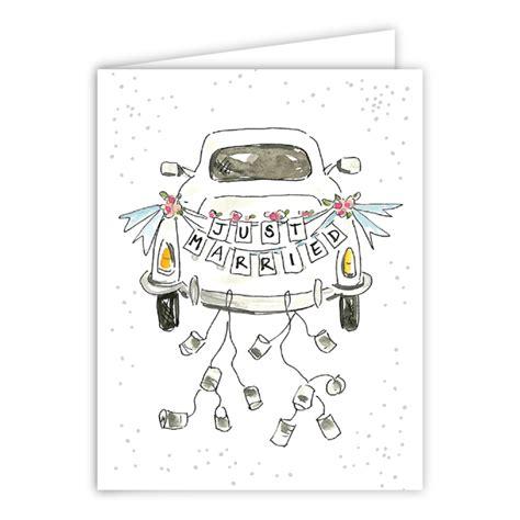 Just Married Auto Vorlage Zum Ausdrucken by Just Married Car Greeting Card