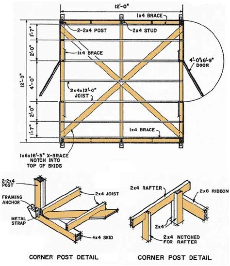 10 By 12 Shed Floor - 12 215 12 shed plans for your shed building shed plans package