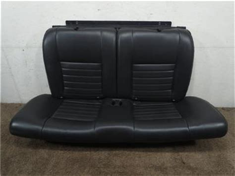 oem mustang seats replacement oem ford mustang black leather coupe rear seat