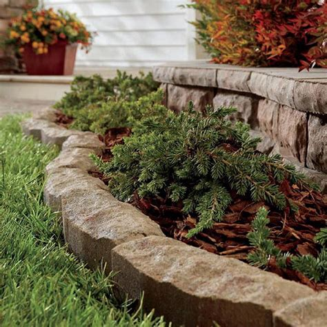 Beds With Ease by Landscape Edging Ideas