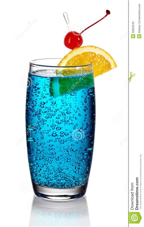 blue lagoon cocktail blue lagoon cocktail stock image image of alcohol beach