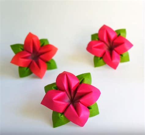 fiori origami tutorial tutorial fiore origami come realizzare dei