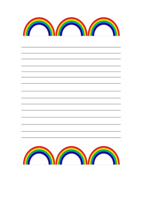 rainbow writing paper rainbow writing paper by kayld teaching resources tes