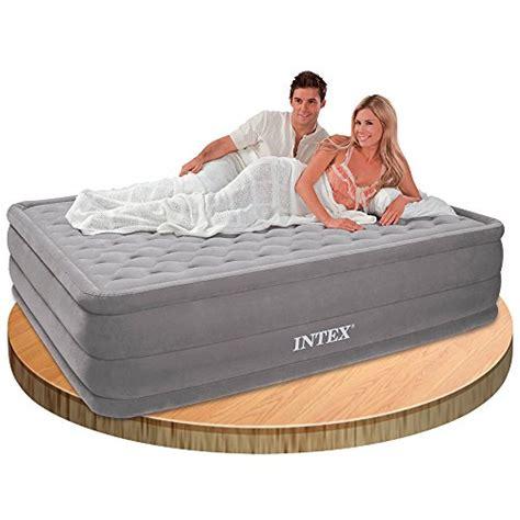 Intex Kasur 152 X 203 X 46cm intex ultra plush bed cama de aire 152 x 203 x 46 cm