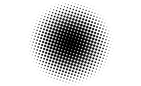 pattern illustrator dots 12 vector circle halftone dots images free vector