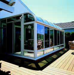 Swing Awning Curved Glass Roof Sunroom Or Patio Room With Aluminum Frame