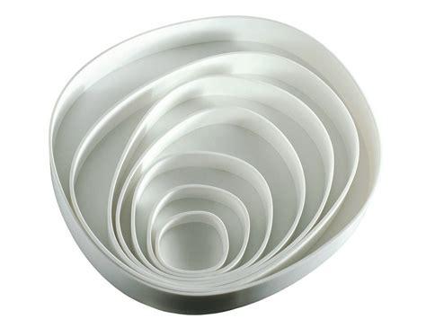 corian bowl corian 174 serving bowl vertigo by b b italia design