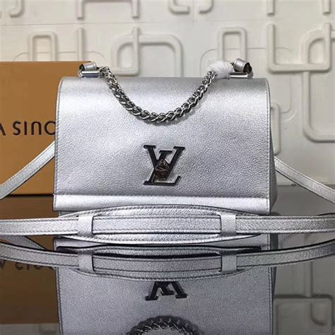 Jual Belt Lv Calf Leather Black With Silver Buckle Mirror Quality 5 louis vuitton calf leather lockme ii bb silver m51200