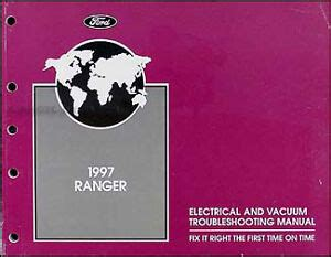 ford ranger electrical troubleshooting manual