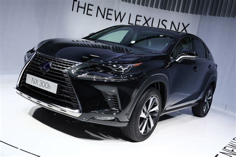 lexus nx facelift  european debut   frankfurt motor show auto express