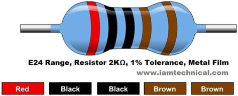 2 k ohm resistor 13 answers what does a 2k ohms resistor means