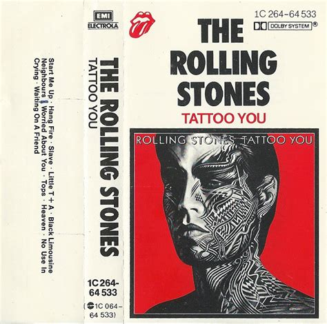 rolling stones tattoo you songs the rolling stones you cassette album at discogs