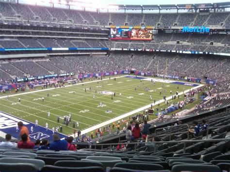 Section 245a 28 Images Metlife Stadium Section 246a