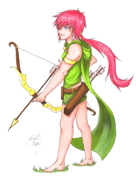 Puzzle Clash Of Clanz day 4 archer clash of clans by theamandaami on deviantart