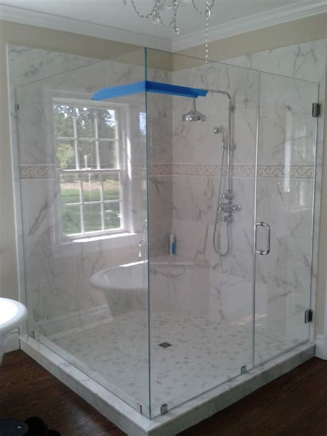 Frameless Shower Doors New Jersey Cost For Contemporary Glass Shower Doors Prices