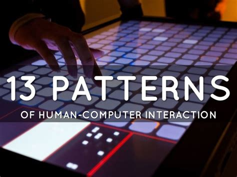 pattern language for human computer interface design 96 best images about interactive art design on pinterest