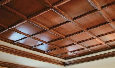 Designer walls for bedroom, faux wood drop ceiling panels