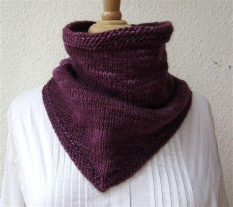 Knitting Bandana knitting pattern bandana cowl knitting