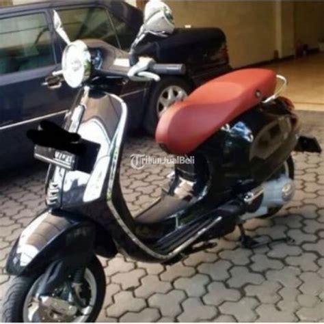 Aksesoris Vespa Primavera Dan Vespa New Sprintfront Bumperlis Bumper scooter vespa primavera kondisi bekas warna hitam harga murah jawa barat dijual tribun