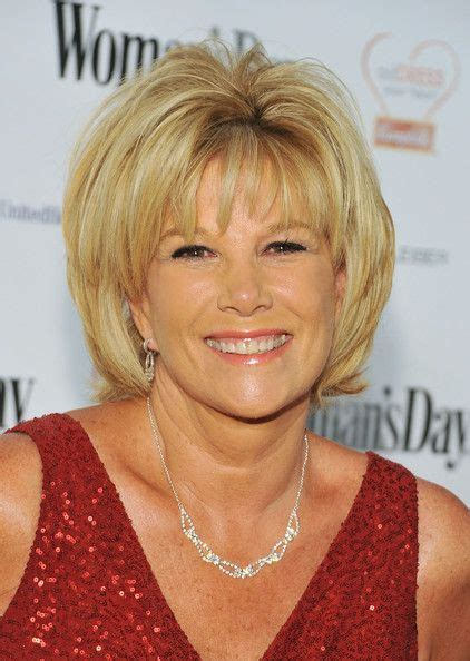 joan lundens hairstyles joan lunden in woman s day 8th annual red dress awards