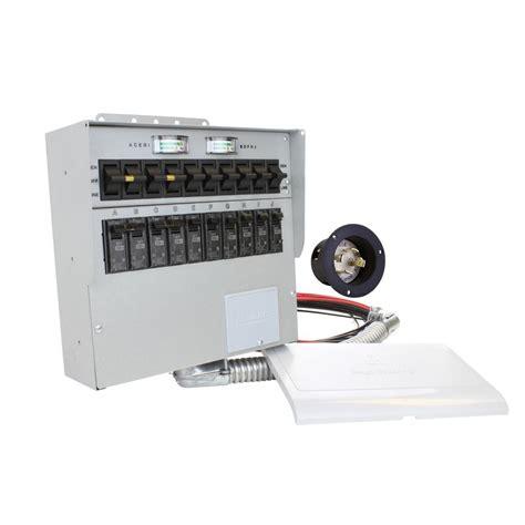 manual transfer generlink 30 meter mounted transfer switch with 75ka