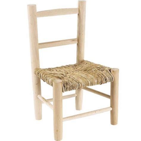 chaise pour enfant chaise enfant bois paille la vannerie d aujourd hui