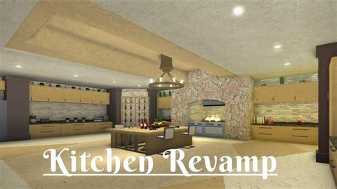 robloxbloxburg kitchen revamp  youtube