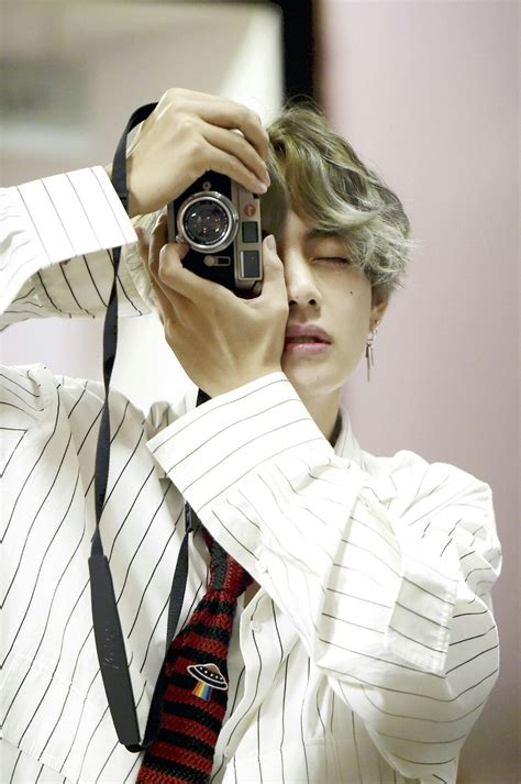 kim taehyung camera v bts x dispatch love yourself 承 her photoshoot