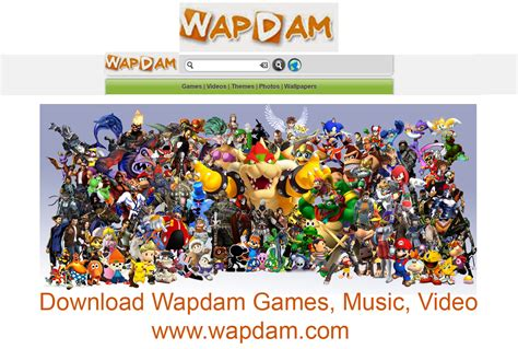 wapdam download wapdam games music video www wapdam