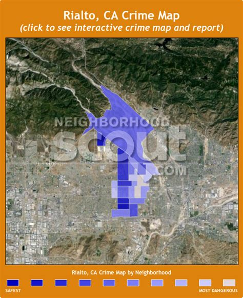 rialto california map rialto crime rates and statistics neighborhoodscout
