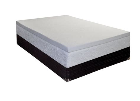 King Size Bed Foam Topper Coil Mattress Topper King Size With Cool Gel Memory Foam 5 1cm Free Ship Ebay