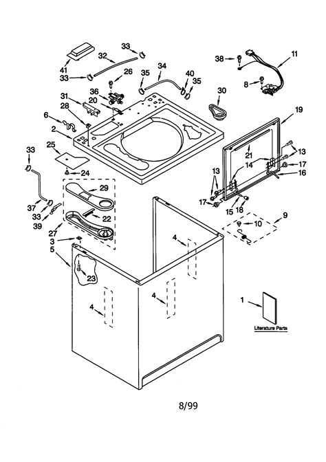 wiring diagram for 70 series kenmore washer washing