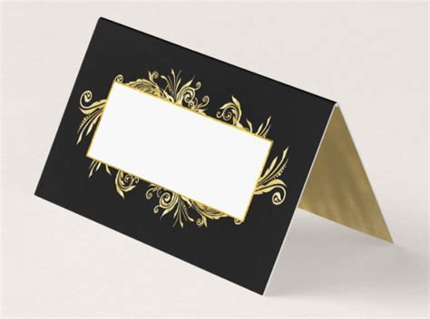 fancy place cards templates 14 table place card designs templates psd ai